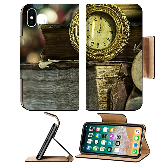 luxlady premium apple iphone x flip pu leather wallet case image id 26138340 old books and