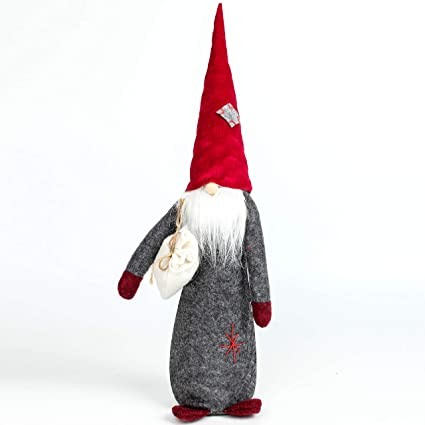 a21d8e3f1b66f Costyleen Handmade Swedish Tomte Scandinavian Christmas Santa Gnome Large  Sized Home Ornaments Table Decor Festival Decoration