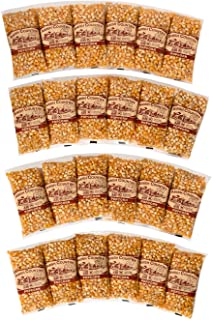 product image for Amish Country Popcorn | 24 (4 Oz Bags) Medium Yellow Popcorn | Old Fashioned with Recipe Guide