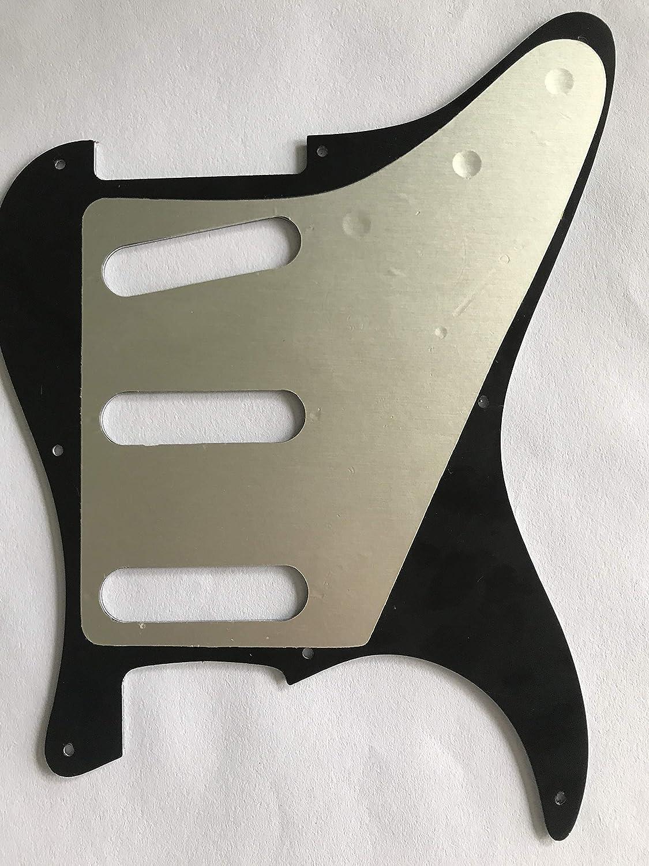 For US Fender 57 8 screw SRV Logo Strat Guitar Pickguard