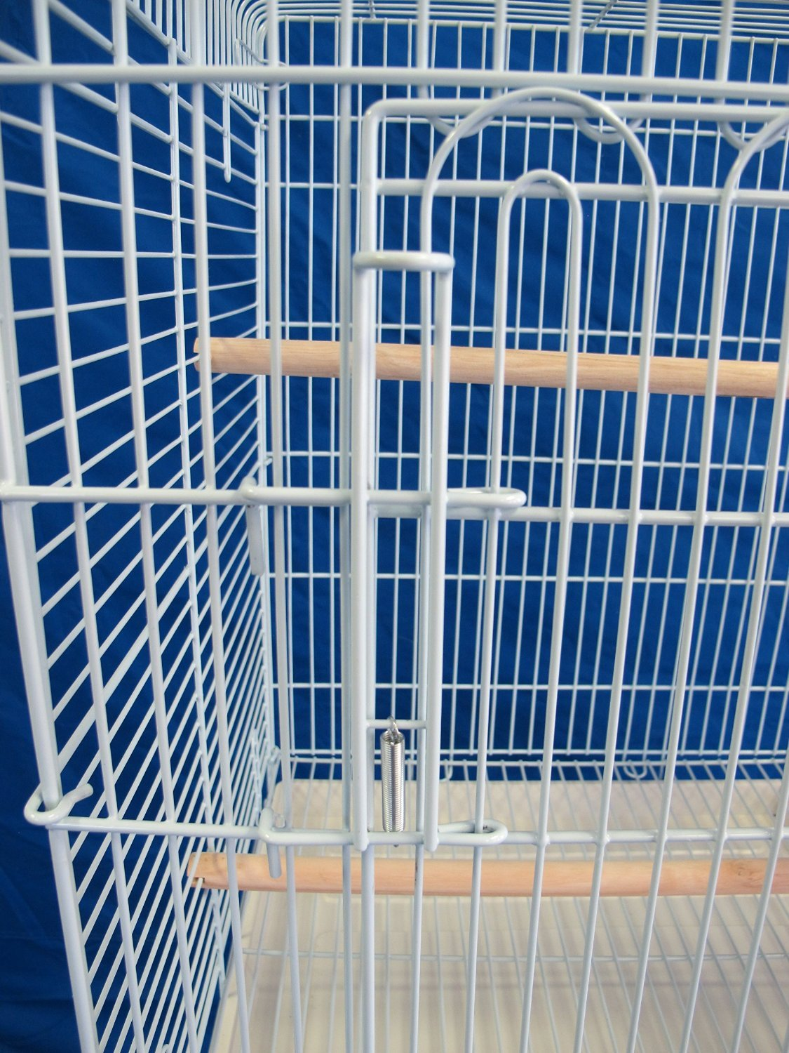 Brand New Parrot Bird Cage Cages Play w/Stand 20x20x58 ''Black'' by Mcage
