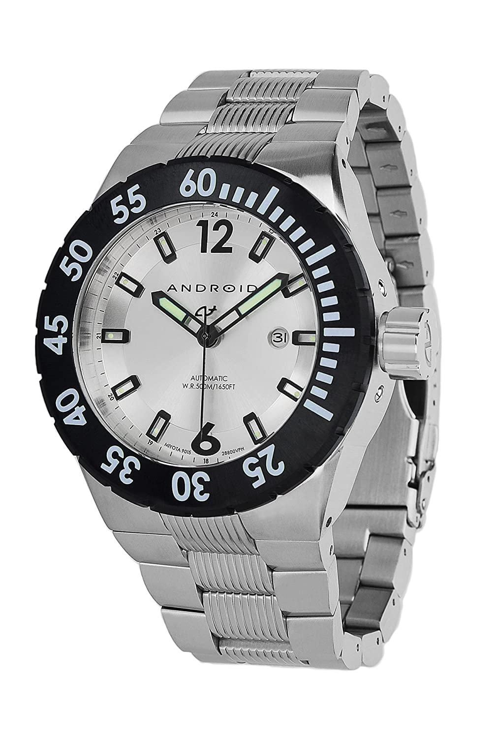 Android Dm Contender 9015 Automatic Stainless Steel Watch