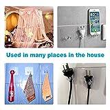 Strong Plug Hook Multi Purpose Transparent Plastic