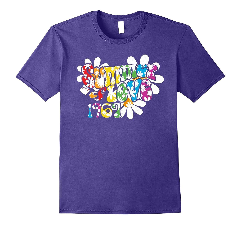 1967 Summer of Love T-Shirt Hippie 50th Anniversary Shirt-4LVS