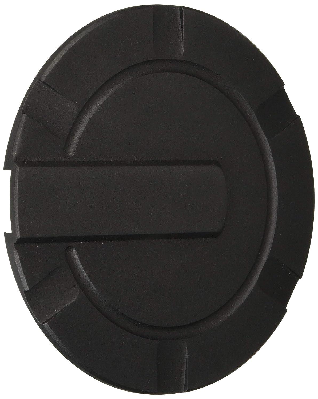 Flat Black All Sales 6952K 6 3//8 Ring Ami Striker Style Billet Fuel Door