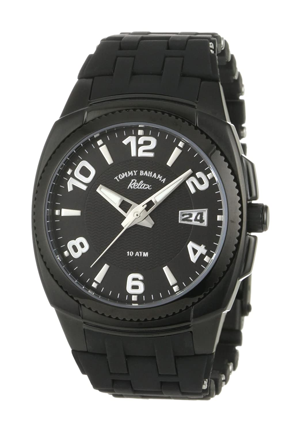 Tommy Bahama Relax Women s RLX4004 Sport Analog Black Dial Water Resistant Watch