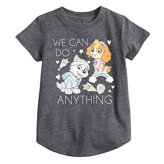 fa2d79a5639 Jumping Beans Toddler Girls 2T-5T Paw Patrol Skye   Everest We Can Do  Anything