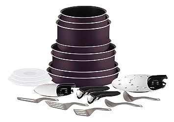 Tefal Ingenio Set de sartenes y cacerolas, 20 piezas (No compatible para inducción): Amazon.es: Hogar