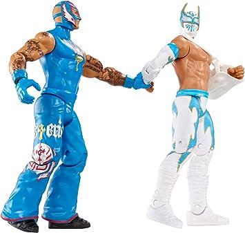 WWE Rey Mysterio & Sin Cara Battlepack Figures: Amazon.es: Juguetes y juegos
