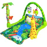 Rainforest Lullaby Baby Playmat Musical Piano Gym Activity Cushion Mat AU