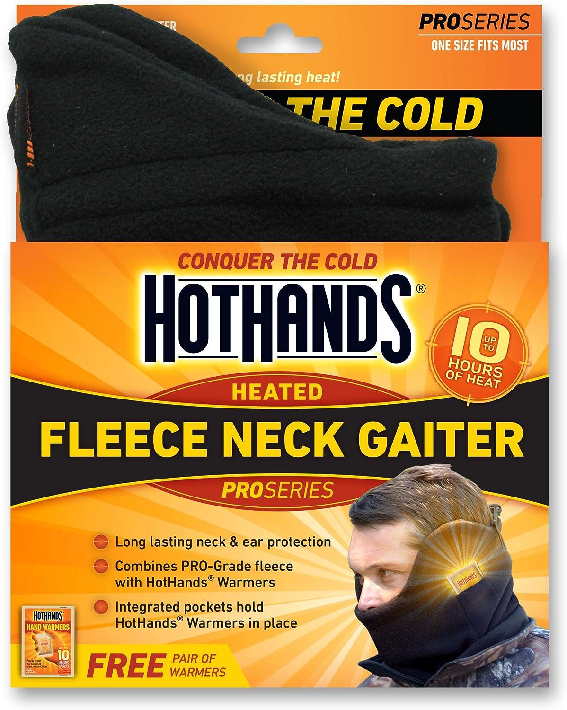 HotHands Heated Fleece Neck Gaiter: Clothing