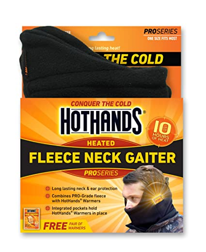Review HotHands Heated Fleece Neck