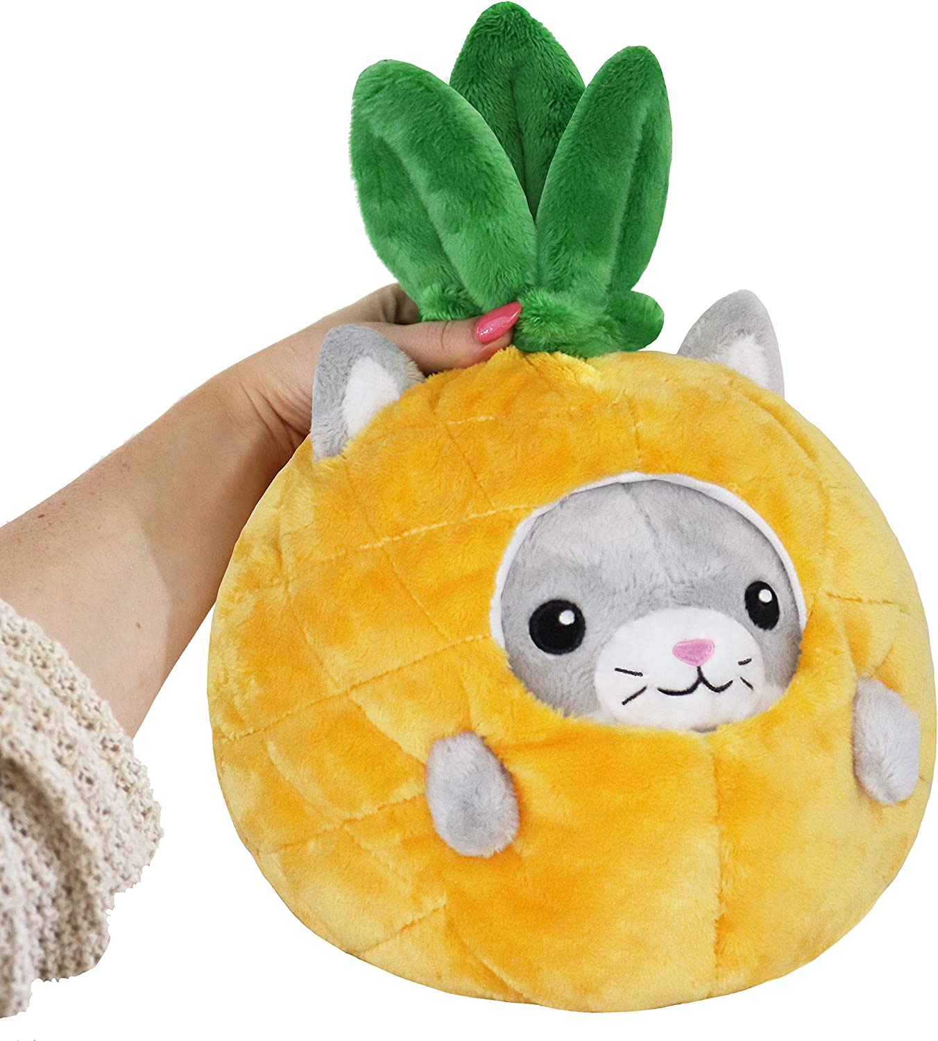"""Squishable / Undercover Kitty in Pineapple - 7"""""""