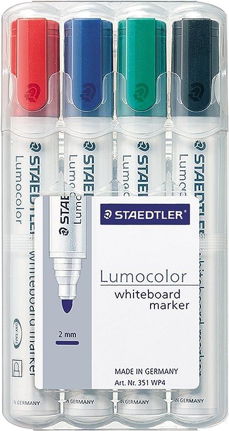 Staedtler 351 WP4 Lumocolor - Rotuladores para pizarra ...