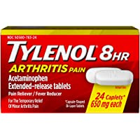 24-Count Tylenol 8 Hour Arthritis Pain Tablets with 650 mg Acetaminophen for Arthritis & Joint Pain