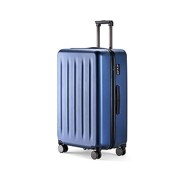 90FUN Maleta Mediana rígida I Equipaje de Viaje Ligero con Cerradura de combinación TSA I 67,5 x 44 x 25 cm I Azul: Amazon.es: Equipaje