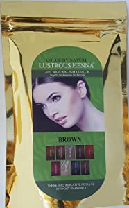 Lustrous Henna Brown - 100 Grams