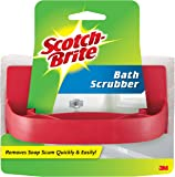 Scotch-Brite Handled Bath Scrubber, 3.5 in. x 5.8 in., 1/Pack