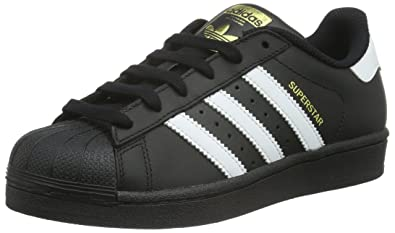 ffc216594ec Amazon.com | Adidas Superstar Foundation Girls Sneakers Black | Sneakers