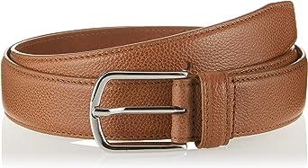 TALLA 90 (Tamaño del fabricante: 90). Cortefiel Cinturón Sport Piel Graba Hombre