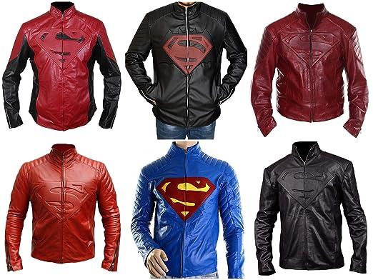 Chaqueta Granate y Negra Super Heroes de Man of Steel ...