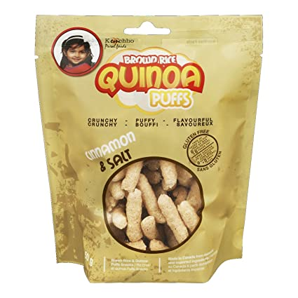 brownrice & la quinoa Canela de hojaldre de sal (12 Bolsas ...