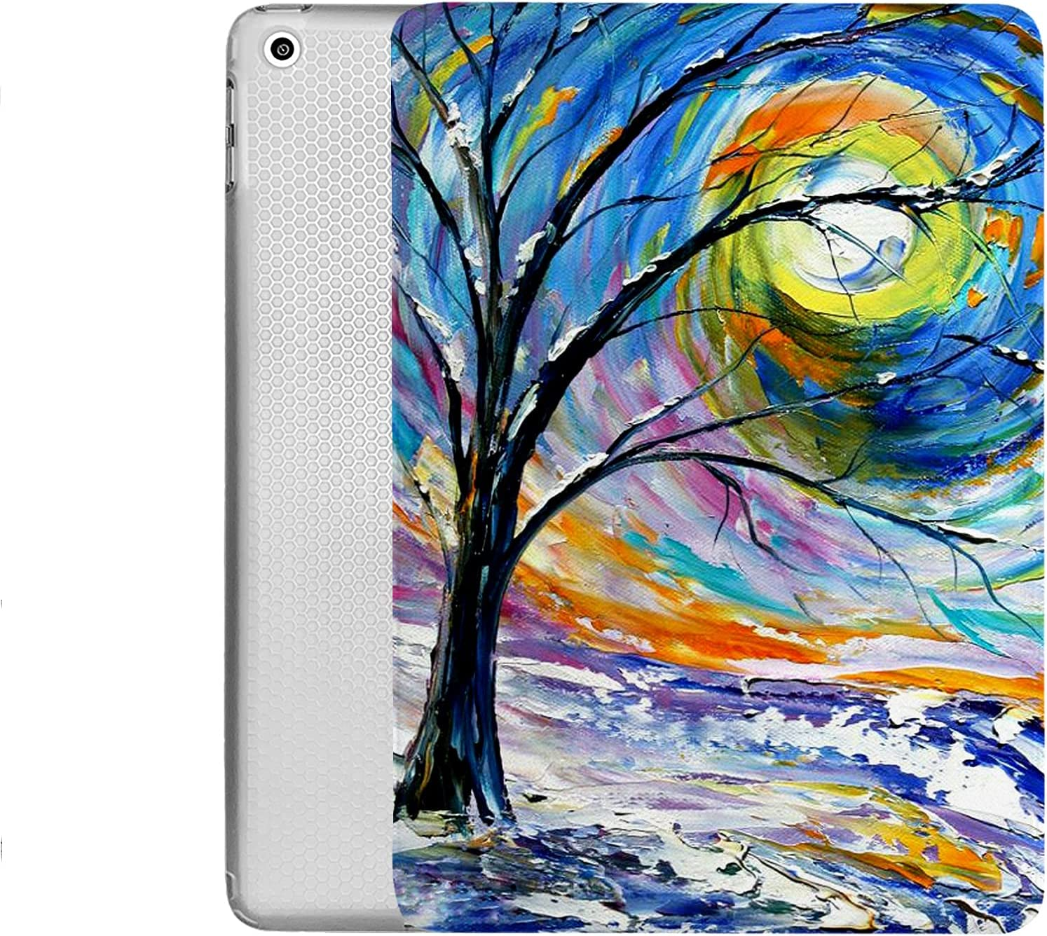 DuraSafe Cases For iPad 7.9 Case iPad Mini 3rd / 2nd / 1st GenSlim Smart Protective Cover Soft TPU Clear Back & Viewing/Typing Stand for iPad 7.9