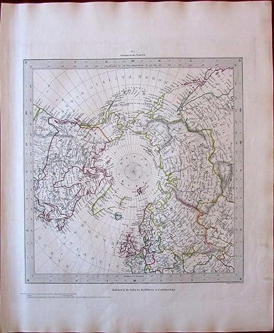 Amazon.com: North Pole Canada Russian Alaska Europe Asia c ...