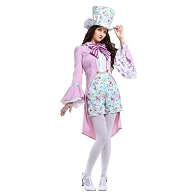 Pretty Mad Hatter Women's Costume: Clothing
