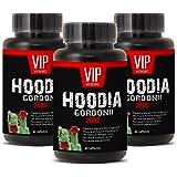 Super Hoodia Gordonii Power - Pure Hoodia Gordonii Extract 2000mg - Hoodia Gordonii Highly Effective Appetite Suppressing (3 bottles 180 capsules)