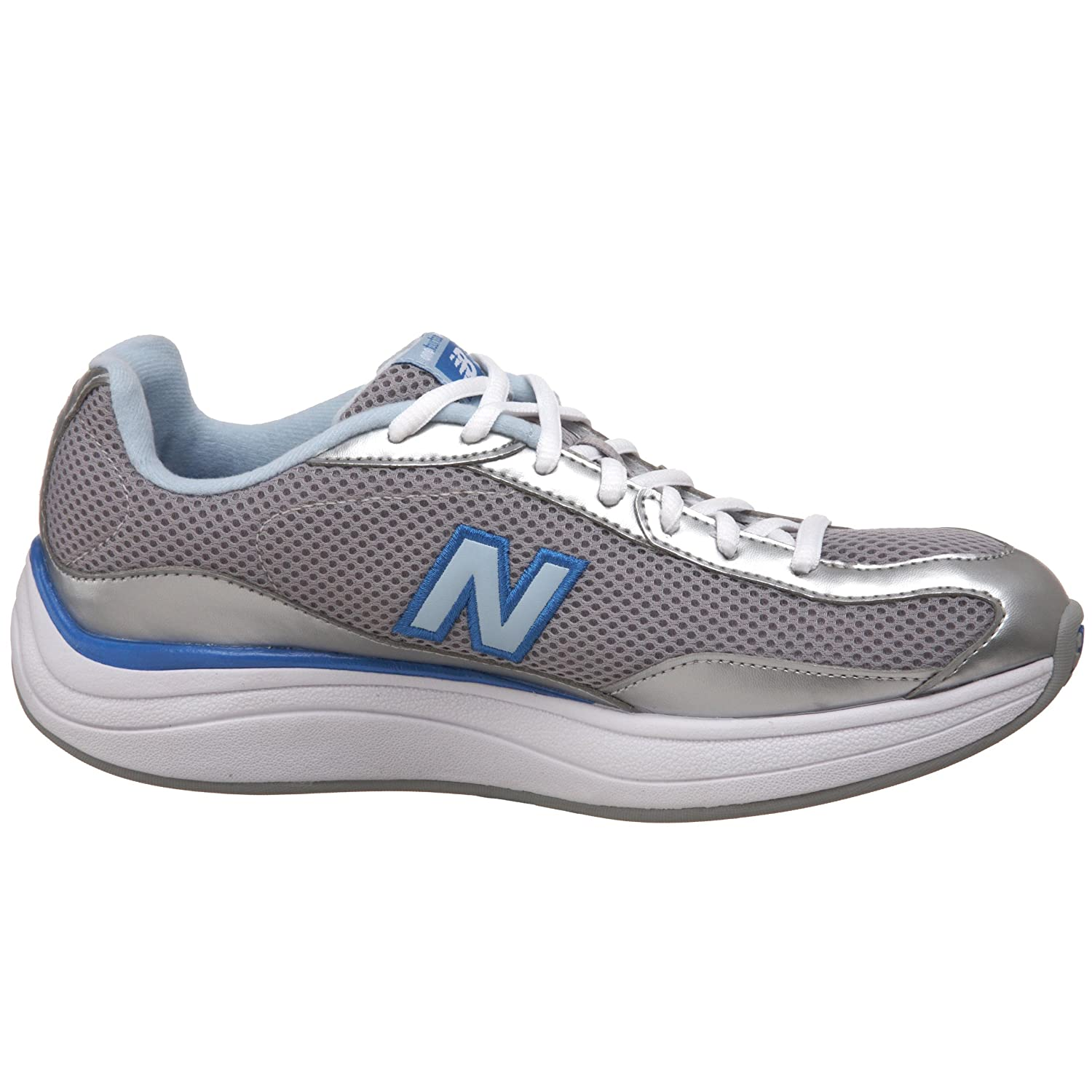 afb04178e4f55 ... discount code for netherlands amazon new balance womens ww1442 rock  tone shoe silver blue 5 b