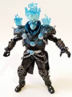 """Marvel Legends Blue GHOST RIDER Review 6"""" inch (Hasbro) action figure toy"""