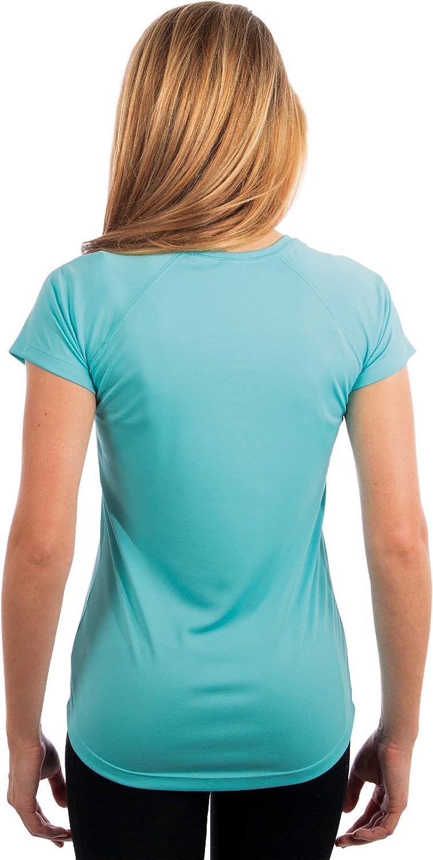 Vapor Apparel Factor 50+ Camiseta de Manga Corta con protecci/ón Solar contra Rayos UV para Mujer