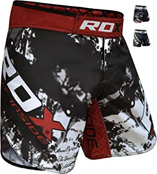 RDX MMA Short Entrainement Free Fight Combat Kick Boxe Martiaux Arts FR