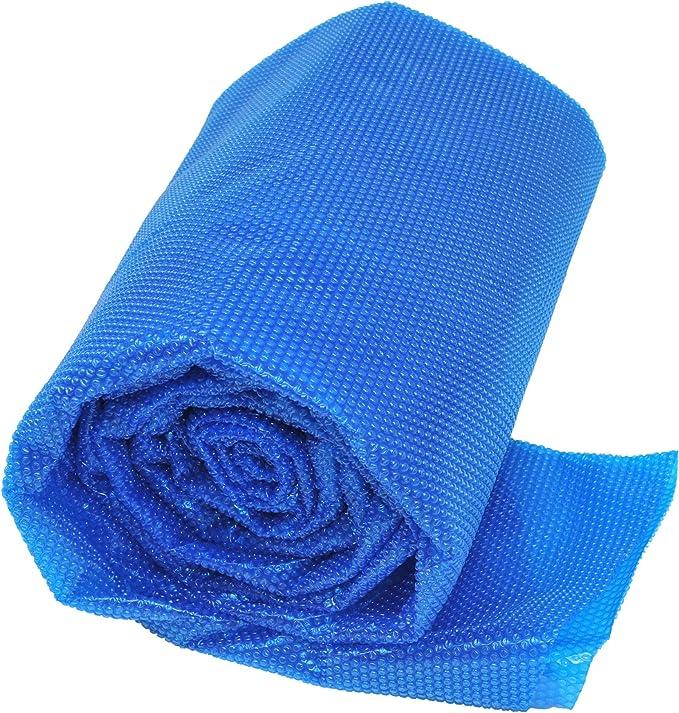 Gre CPERT95 - Cubierta de Verano para Piscina Enterrada Rectangular de 900 x 500, Color Azul
