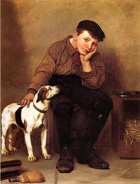 """Sympathy - De John George Brown, Impresiones en lona, 16"""" by 21 ..."""