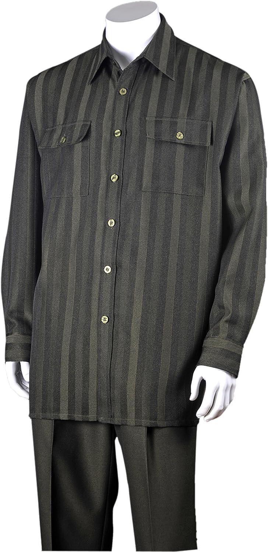FORTINO LANDI Stripe Design Walking Suits 2761 in 3 Colors