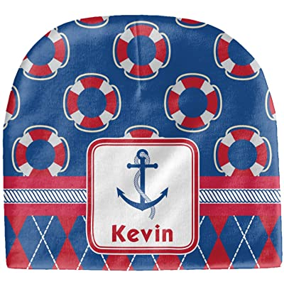 RNK Shops Buoy & Argyle Print Baby Hat (Beanie) (Personalized)