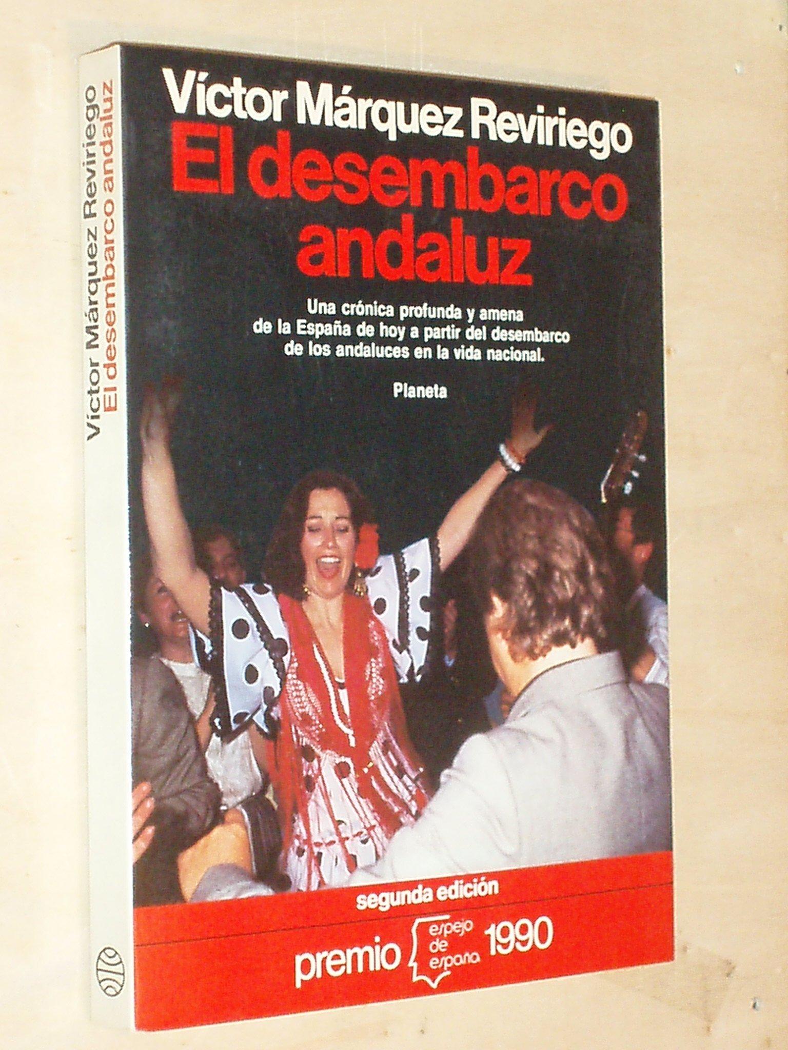 Desembarco andaluz, el (Colección Espejo de España): Amazon.es: Márquez Reviriego, Víctor: Libros