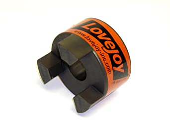 Cast Iron Lovejoy 48319 Size L225 Standard Jaw Coupling Hub 32 mm Bore No Keyway 5 OD 68514448319 5 OD Metric