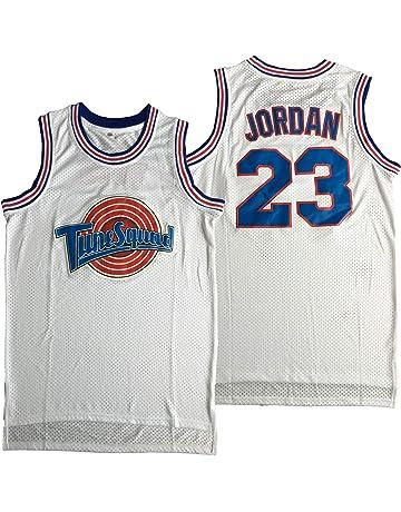 23 LSJ-ZZ Maglia da Basket da Uomo North Carolina University Edition n Top Sportivo in Jersey Retro all-Star Michael Jordan Ricamato,Blue,S:170cm//50~65kg