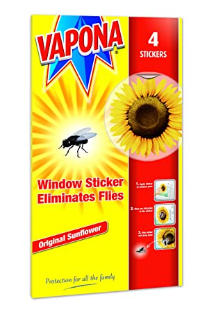 Vapona window stickers