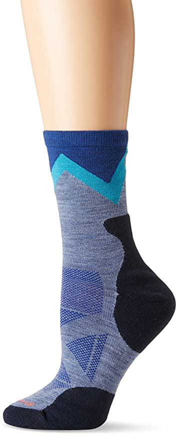 Amazon smartwool womens phd outdoor approach crew socks past smartwool womens phd outdoor approach crew socks blue steel small aloadofball Image collections