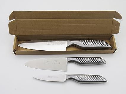 Juego de 3 cuchillos Holstein: puntilla de 9 cm de filo y ...