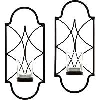 Hosley® Juego de 30,4cm–Portavelas para Vela, candelabro