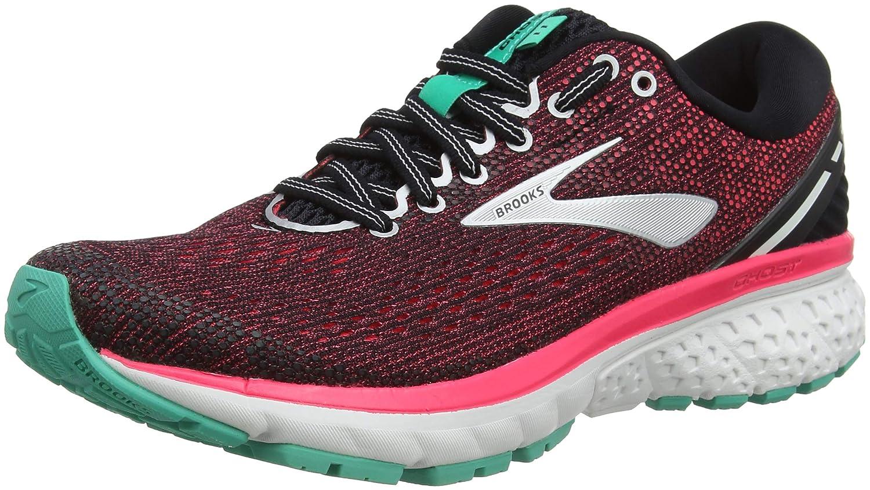 Brooks Womens Ghost 11 Running Shoe B0784HH92R 11 AA US|Black/Pink/Aqua