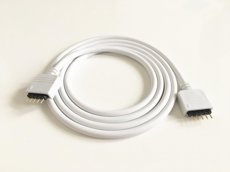 2pcs/Pack 1m RGBW LED Verlängerungskabel LED Streifen Verbinder ...
