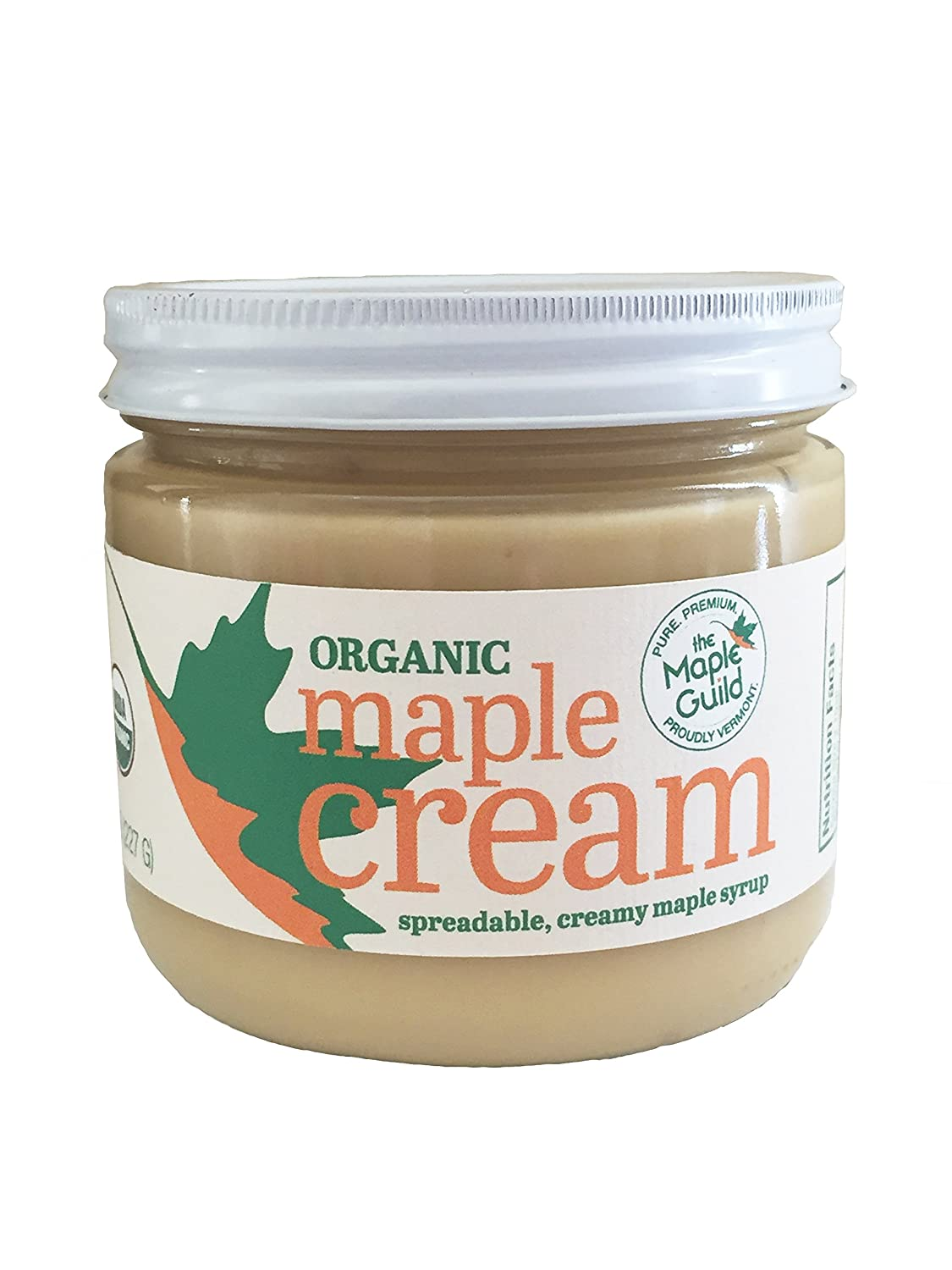 Maple Guild Organic Cream, 16 Ounce
