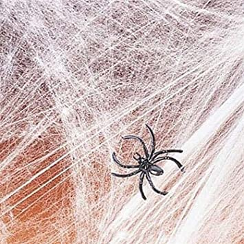 yazycraft spider webs webbing cobwebs halloween decorations spiderweb - Halloween Spider Web Decoration