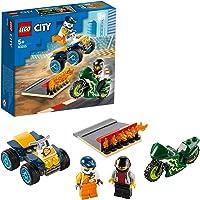 LEGO City Stunt Team 60255 Bike Toy, Cool Building Set for Kids